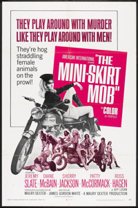 "The Mini-Skirt Mob (American International, 1968). One Sheet (27"" X 41""). Action"