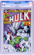 Modern Age (1980-Present):Science Fiction, The Incredible Hulk #249 (Marvel, 1980) CGC NM/MT 9.8 Whitepages....
