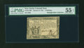 Colonial Notes:New Jersey, New Jersey January 9, 1781 5s PMG About Uncirculated 55 EPQ....