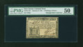 Colonial Notes:New Jersey, New Jersey January 9, 1781 3s6d PMG About Uncirculated 50....
