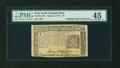 Colonial Notes:New York, New York March 5, 1776 $3 PMG Choice Extremely Fine 45....