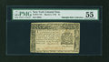 Colonial Notes:New York, New York March 5, 1776 $1 PMG About Uncirculated 55....