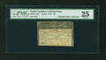 Colonial Notes:North Carolina, North Carolina April 2, 1776 $5 Thrush PMG Very Fine 25....