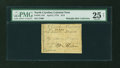 Colonial Notes:North Carolina, North Carolina April 2, 1776 $1/8 Dog PMG Very Fine 25 NET....