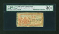 Colonial Notes:New Jersey, New Jersey April 16, 1764 £6 PMG Very Fine 30 EPQ....