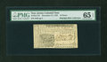 Colonial Notes:New Jersey, New Jersey December 31, 1763 18d PMG Gem Uncirculated 65 EPQ....