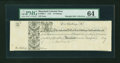 Colonial Notes:Maryland, Maryland 1733 10s Remainder PMG Choice Uncirculated 64....