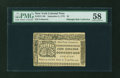 Colonial Notes:New York, New York September 2, 1775 $5 PMG Choice About Unc 58....
