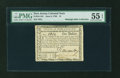 Colonial Notes:New Jersey, New Jersey June 9, 1780 $1 PMG About Uncirculated 55 EPQ....