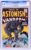 Silver Age (1956-1969):Horror, Tales to Astonish #17 (Marvel, 1961) CGC FN/VF 7.0 Cream tooff-white pages....