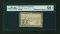 Colonial Notes:New Jersey, New Jersey January 9, 1781 9d PMG Choice About Unc 58 EPQ....