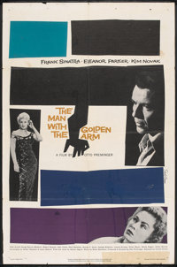 "The Man With the Golden Arm (United Artists, 1956). One Sheet (27"" X 41""). Drama"