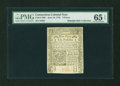 Colonial Notes:Connecticut, Connecticut June 19, 1776 9d PMG Gem Uncirculated 65 EPQ....