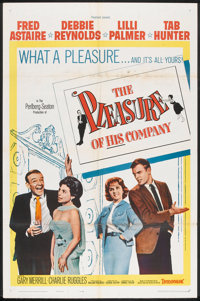 "The Pleasure of His Company (Paramount, 1961). One Sheet (27"" X 41""). Comedy"