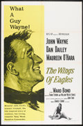 "Movie Posters:Drama, The Wings of Eagles (MGM, R-1966). One Sheet (27"" X 41""). Drama.. ..."