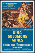 "Movie Posters:Adventure, King Solomon's Mines (MGM, R-1962). One Sheet (27"" X 41""). Adventure.. ..."