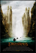 "Movie Posters:Fantasy, The Lord of the Rings: The Fellowship of the Ring (New Line, 2001). One Sheet (27"" X 40"") SS Advance Style C. Fantasy.. ..."