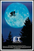 "Movie Posters:Science Fiction, E.T. The Extra-Terrestrial (Universal, 1982). One Sheet (27"" X40.5"") Bicycle Style. Science Fiction.. ..."