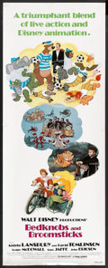 "Movie Posters:Animated, Bedknobs and Broomsticks (Buena Vista, R-1979). Insert (14"" X 36"").Animated.. ..."