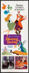 "Movie Posters:Animated, Sleeping Beauty (Buena Vista, R-1970). Insert (14"" X 36"").Animated.. ..."