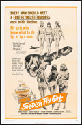 "Movie Posters:Bad Girl, Swedish Fly Girls (Trans American, 1972). One Sheet (27"" X 41"").Bad Girl.. ..."
