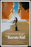 """Movie Posters:Sports, The Karate Kid (Columbia, 1984). One Sheet (27"""" X 41""""). Sports.. ..."""