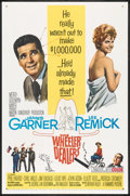 "Movie Posters:Comedy, The Wheeler Dealers (MGM, 1963). One Sheet (27"" X 41""). Comedy.. ..."