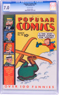 Golden Age (1938-1955):Miscellaneous, Popular Comics #26 (Dell, 1938) CGC FN/VF 7.0 Off-white pages....
