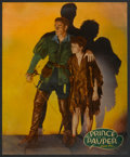 """Movie Posters:Action, The Prince and the Pauper (Warner Brothers, 1937). Jumbo Lobby Card(14"""" X 17""""). Action.. ..."""