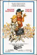 "Movie Posters:Sports, The Bad News Bears (Paramount, 1976). Poster (40"" X 60""). Sports.. ..."