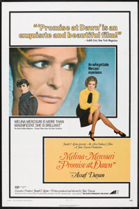 """Promise at Dawn Lot (Avco Embassy, 1971). One Sheets (3) (27"""" X 41"""") Flat Folded. Drama. ... (Total: 3 Items)"""
