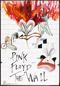 """Movie Posters:Rock and Roll, Pink Floyd: The Wall Lot (MGM, 1982). Poster (2) (33"""" X 47"""" and 40""""X 60""""). Rock and Roll.. ... (Total: 2 Items)"""
