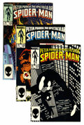 Modern Age (1980-Present):Superhero, Spectacular Spider-Man Short Box Group (Marvel, 1985-98) Condition:Average NM-....