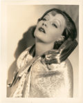 "Movie Posters:Drama, Greta Garbo by Ruth Harriet Louise (MGM, Late 1920s). Portrait (8""X 10"").. ..."