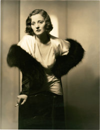 "Tallulah Bankhead by Mortimer Offner (Paramount, Early 1930s). Portrait (10.5"" X 13.5"")"
