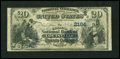 National Bank Notes:Kentucky, Louisville, KY - $20 1882 Date Back Fr. 552 The Citizens NB Ch. #(S)2164. ...