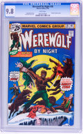 Bronze Age (1970-1979):Horror, Werewolf by Night #38 (Marvel, 1976) CGC NM/MT 9.8 White pages....