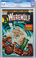 Bronze Age (1970-1979):Horror, Werewolf by Night #22 (Marvel, 1974) CGC NM/MT 9.8 White pages....