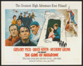 "Movie Posters:Adventure, The Guns of Navarone (Columbia, 1961). Half Sheet (22"" X 28"").Adventure.. ..."
