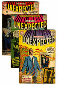 Silver Age (1956-1969):Horror, Tales of the Unexpected Group (DC, 1957).... (Total: 5 Comic Books)