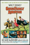 "Movie Posters:Adventure, Swiss Family Robinson Lot (Buena Vista, R-1975). One Sheets (4)(27"" X 41""). Adventure.. ... (Total: 4 Items)"