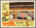 "Movie Posters:Sports, Thunder in Carolina (Howco, 1960). Lobby Card Set of 8 (11"" X 14""). Sports.. ... (Total: 8 Items)"