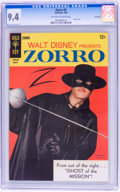 Silver Age (1956-1969):Adventure, Zorro #9 File Copy (Gold Key, 1968) CGC NM 9.4 Off-white to white pages....