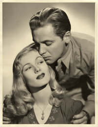 "William Holden and Veronica Lake in ""I Wanted Wings"" by Eugene Robert Richee (Paramount, 1941). Portrait (10&q..."