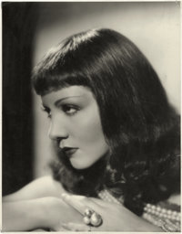 "Claudette Colbert in ""Cleopatra"" by Otto Dyar (Paramount, 1934). Portrait Photo (10.5"" X 13.5"")"