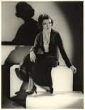 """Movie Posters:Comedy, Claudette Colbert by Otto Dyar (Paramount, Late 1920s). Portrait(10.75"""" X 14"""").. ..."""