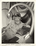 "Movie Posters:Historical Drama, Claudette Colbert in ""Cleopatra"" (Paramount, 1934). Portrait (8"" X10"").. ..."