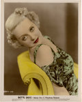 "Movie Posters:Drama, Bette Davis (Warner Brothers, Early 1930s). Color-Glos Still (8"" X 10"").. ..."