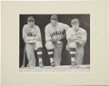 Baseball Collectibles:Photos, Circa 1932 Hack Wilson Signed Baseball Magazine Photograph. ...