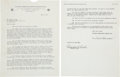 Autographs:Others, 1943 Babe Ruth Signed NBC Radio Contract....